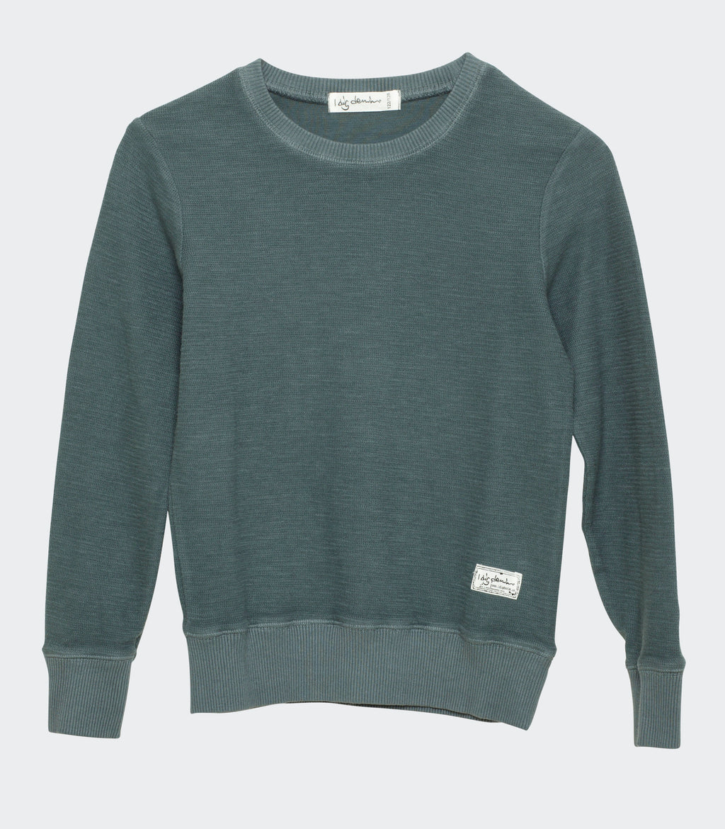 graphite buck crew neck I dig denim