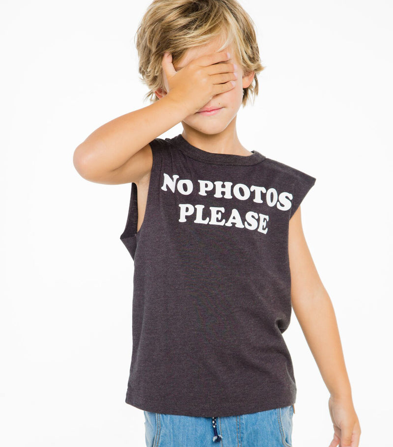 No Photos Muscle Tank