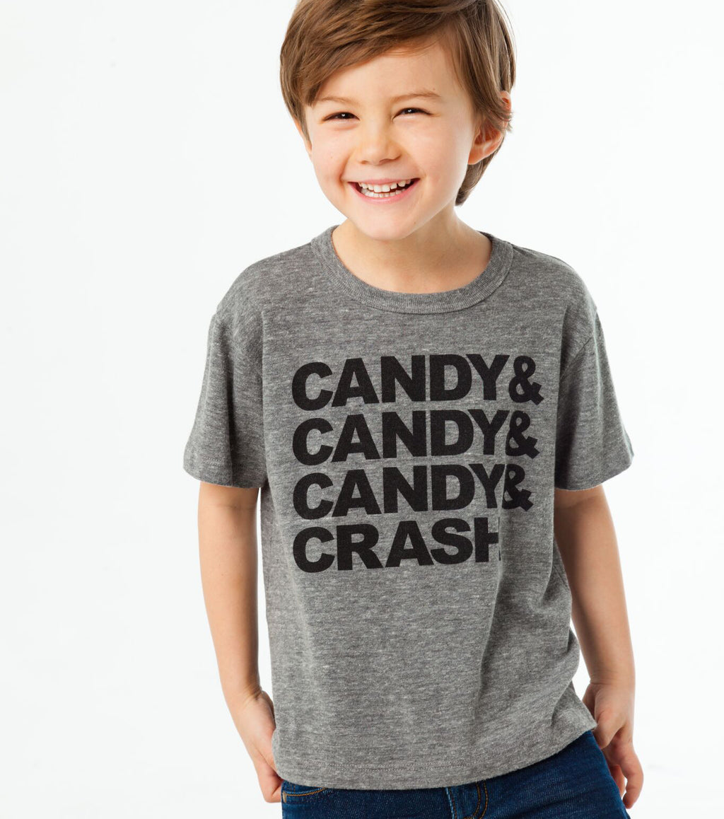 Candy Crash Crew Neck Tee