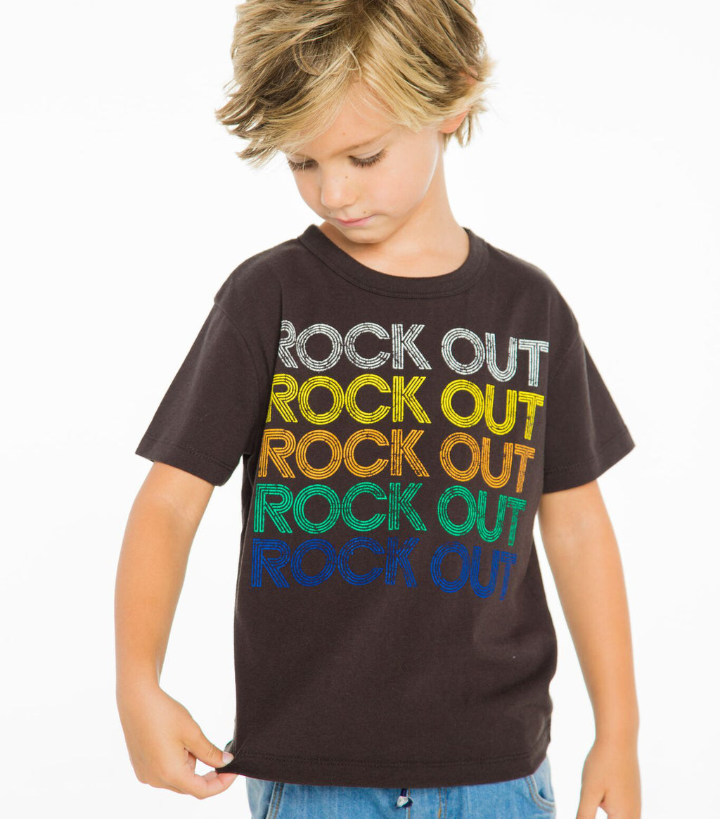 Rock Out Crew Neck Tee