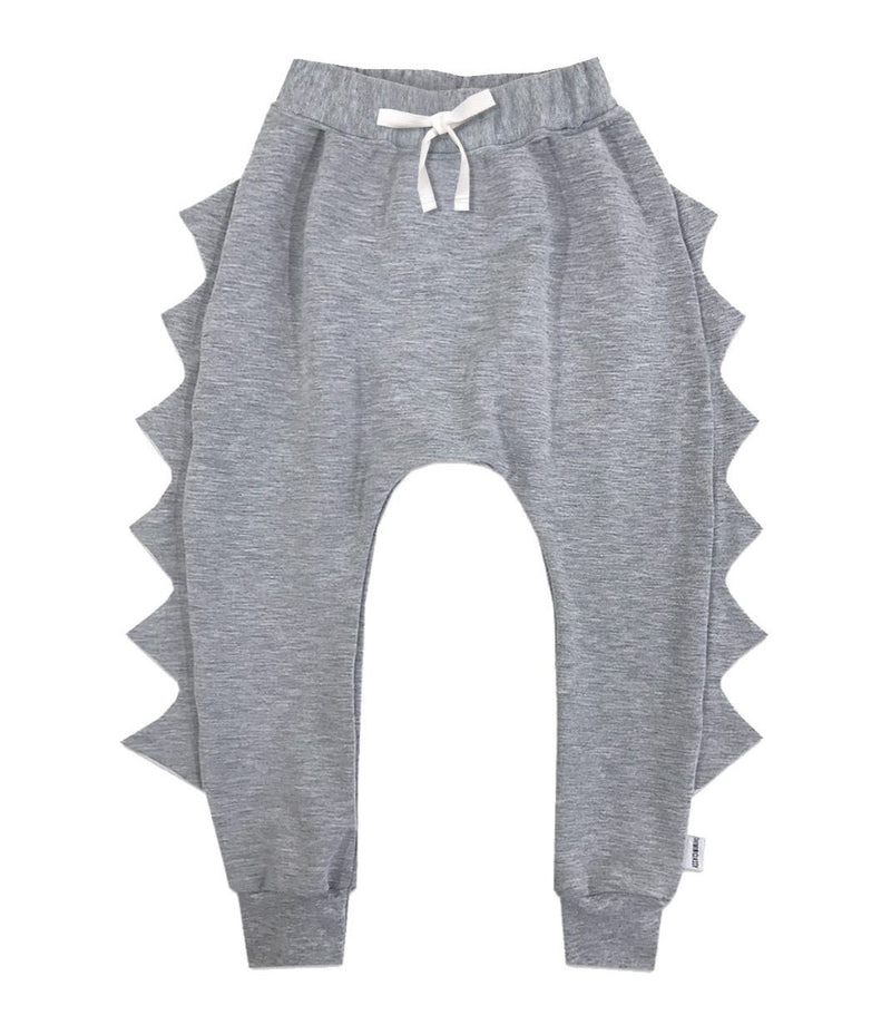 Light heather grey theminiclassy Dino pants