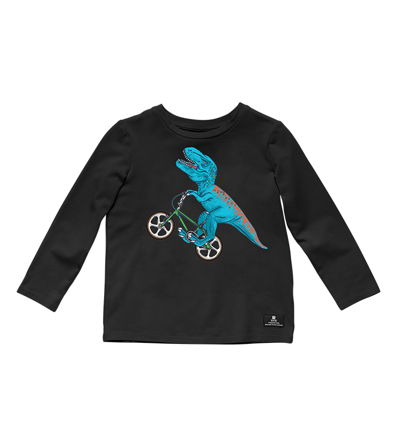 Dino Bike Long Sleeve Tee