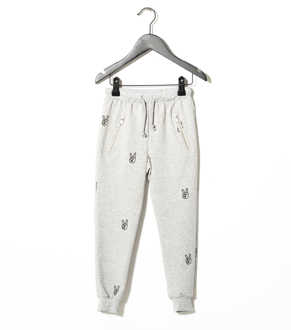 grey melange power sweatpants sometime soon