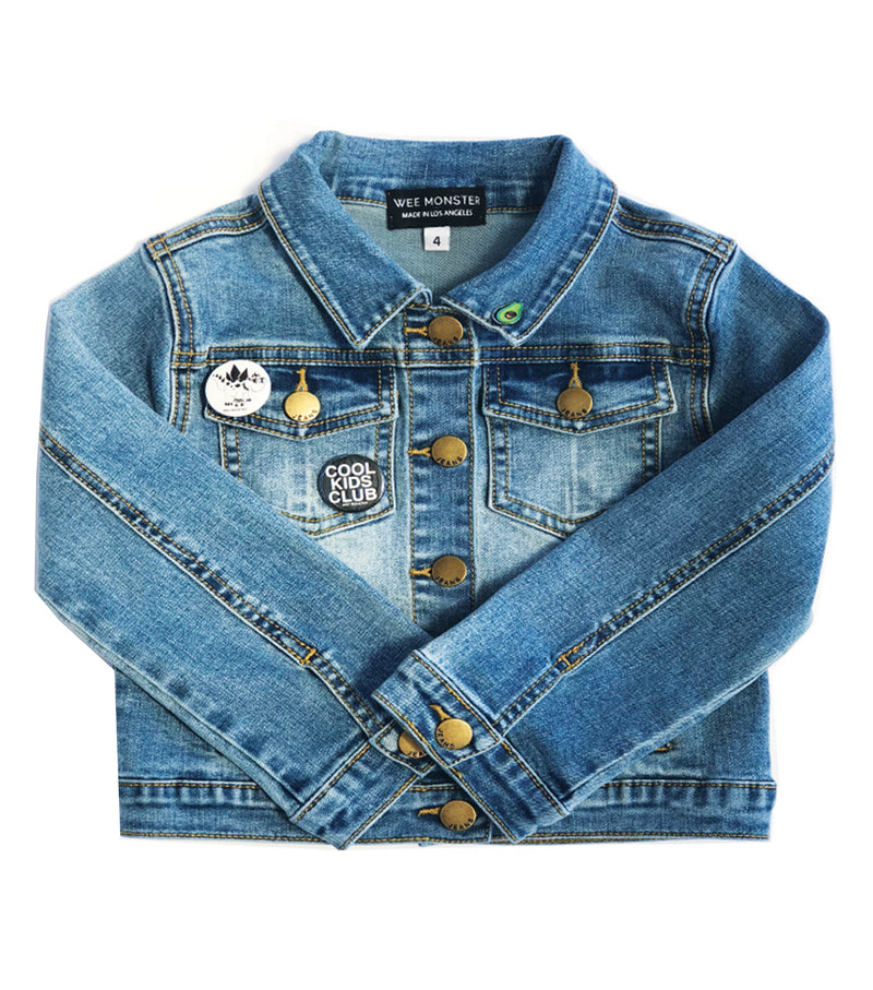 Let's Taco 'Bout It Denim Jacket