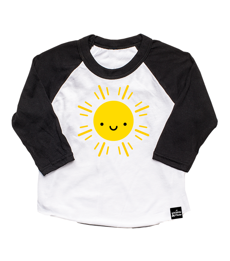 Kawaii Sun Baseball Tee