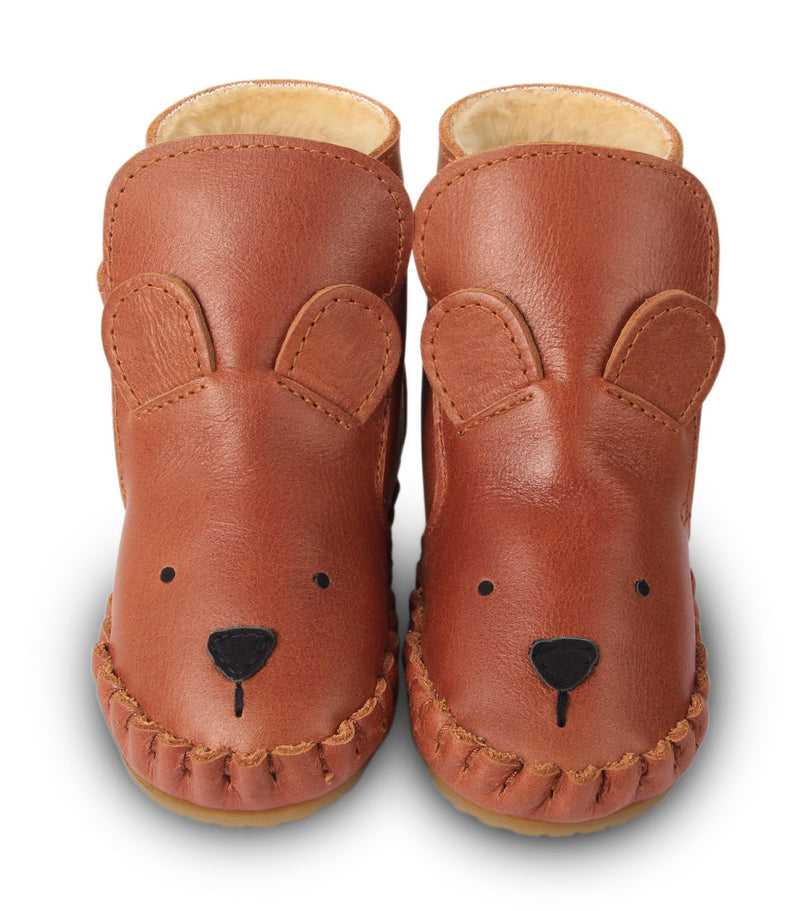 Kapi Lining Bear Booties