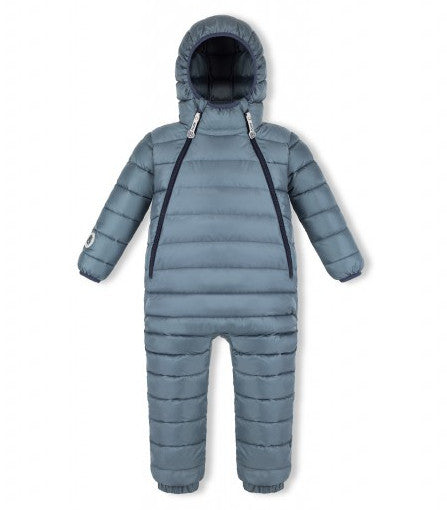 gray stone snowsuit fluff