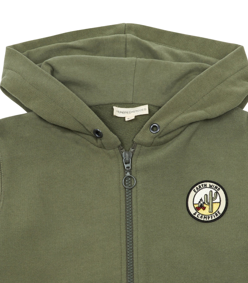 Campfire Zip Up Sweatshirt