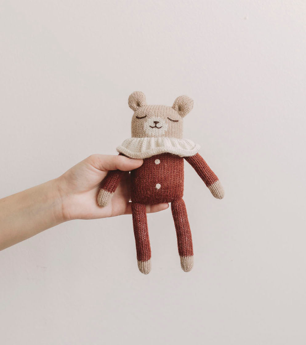 Teddy Knit Toy