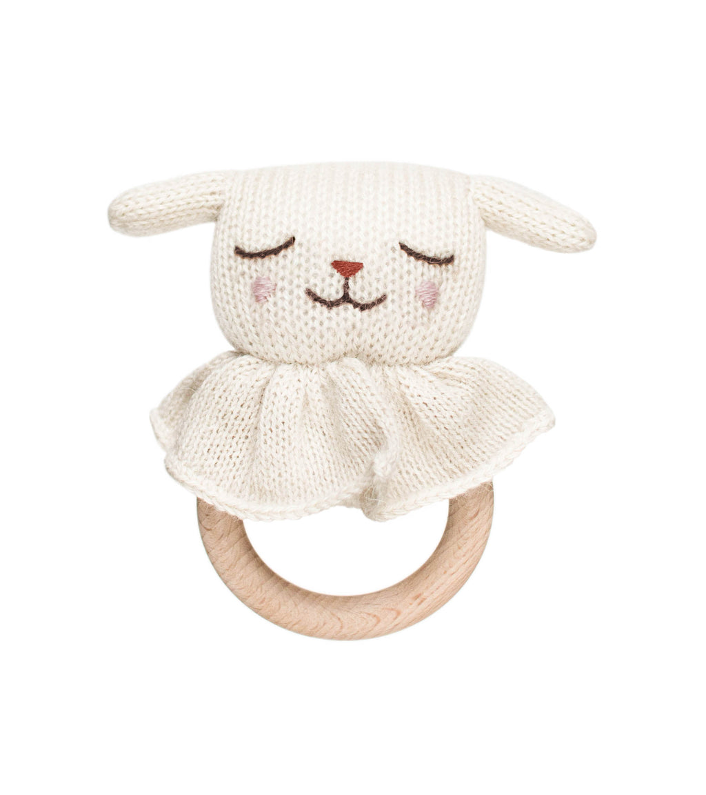Lamb Teething Ring