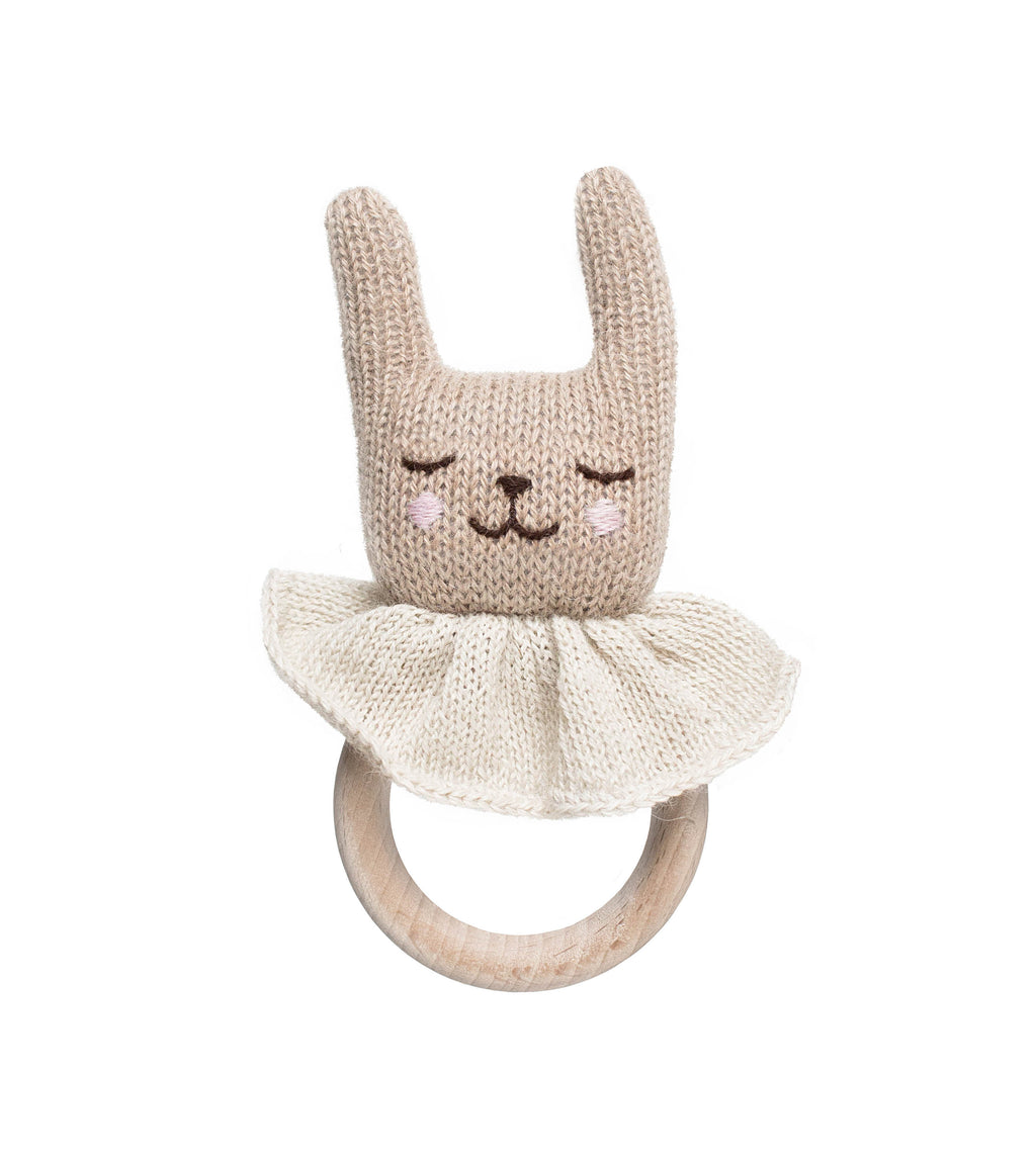 Rabbit Teething Ring