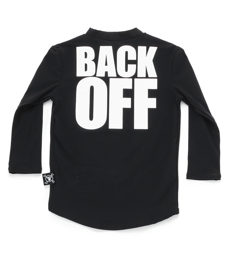 Back Off Rash Guard
