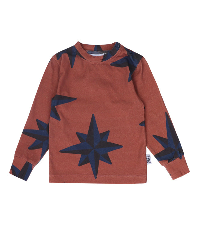 Blue Compass L/S Tee