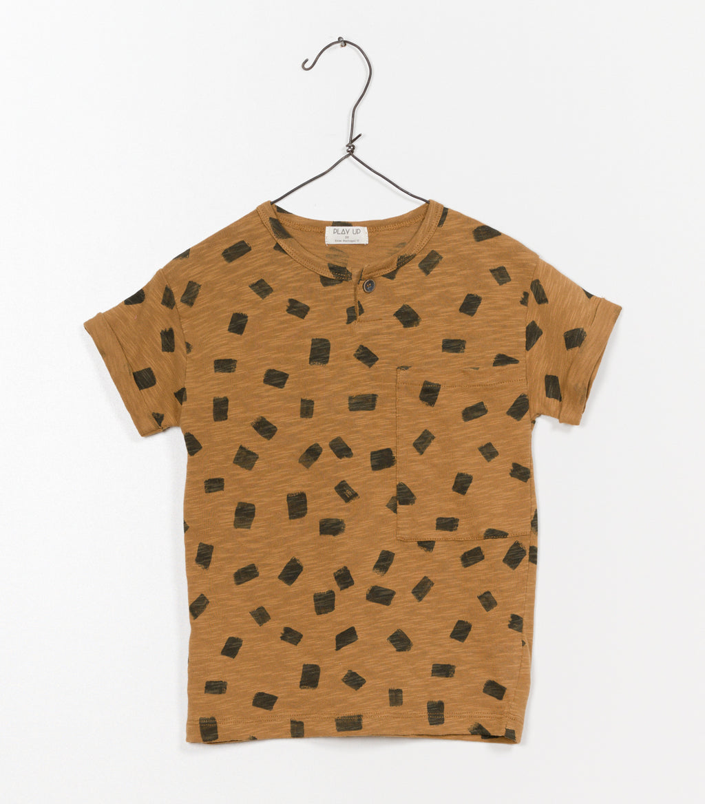 Printed Jersey Tee