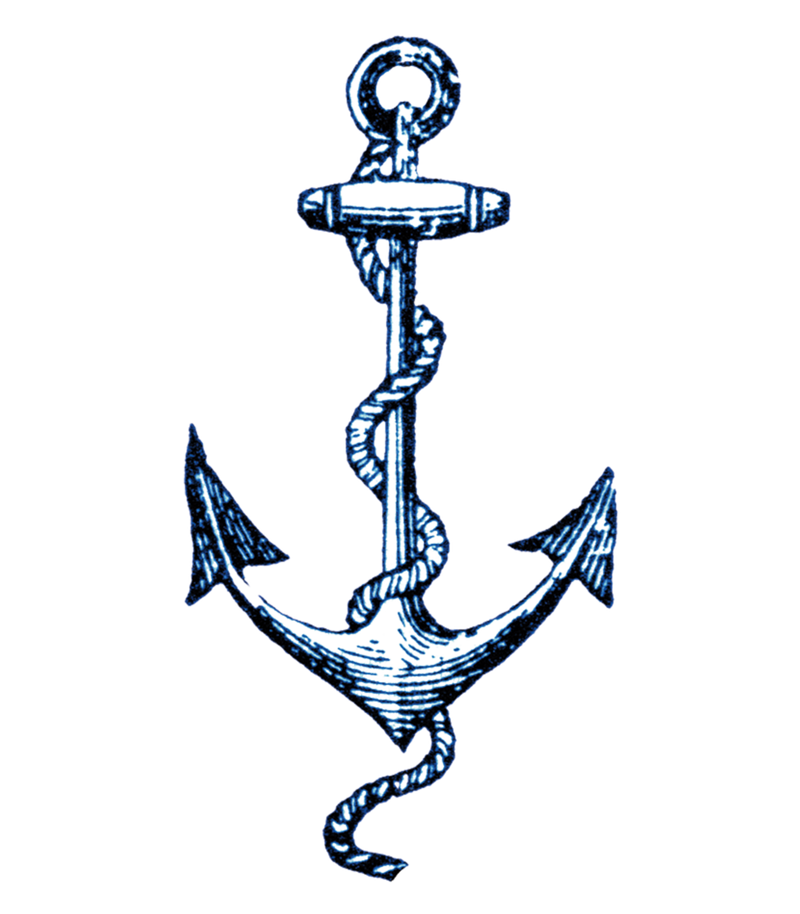 Tattly cartolina anchor tattoo