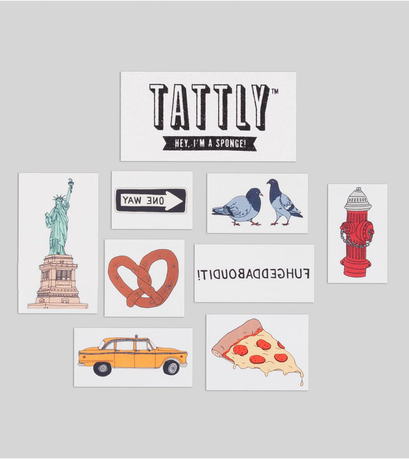 New York Tattoo Set