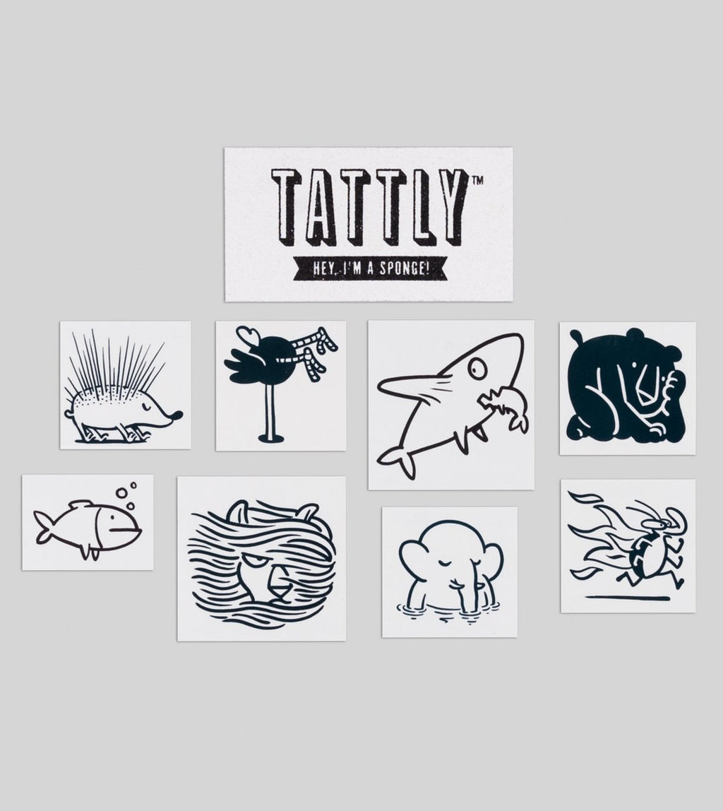 Petting Zoo Tattoo Set