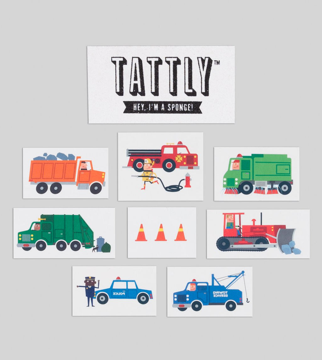 Traffic Tattoo Set