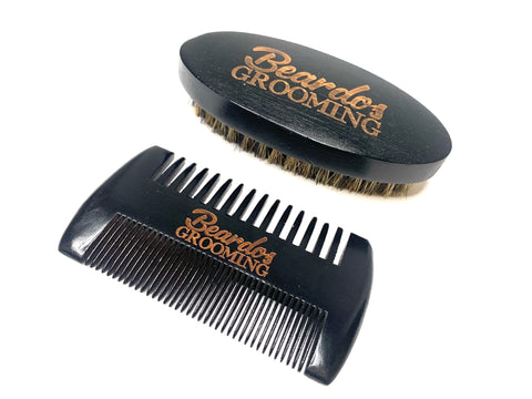 Beardos Grooming Signature Beard Brush & Comb