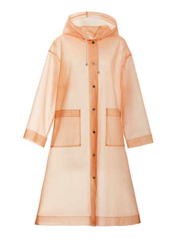 Stand Powder Pink rain jacket