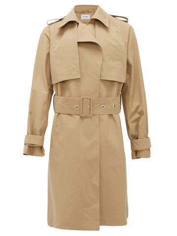 Beige Belted Trench Coat- Bianca Saunders available at Matches