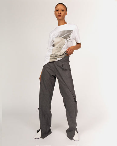 Wrapped Waist Trousers - Bianca Saunders - Available at Machine A