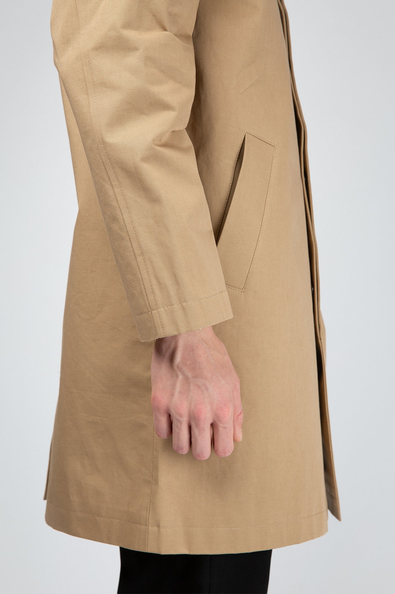 Buffet Beige Overcoat