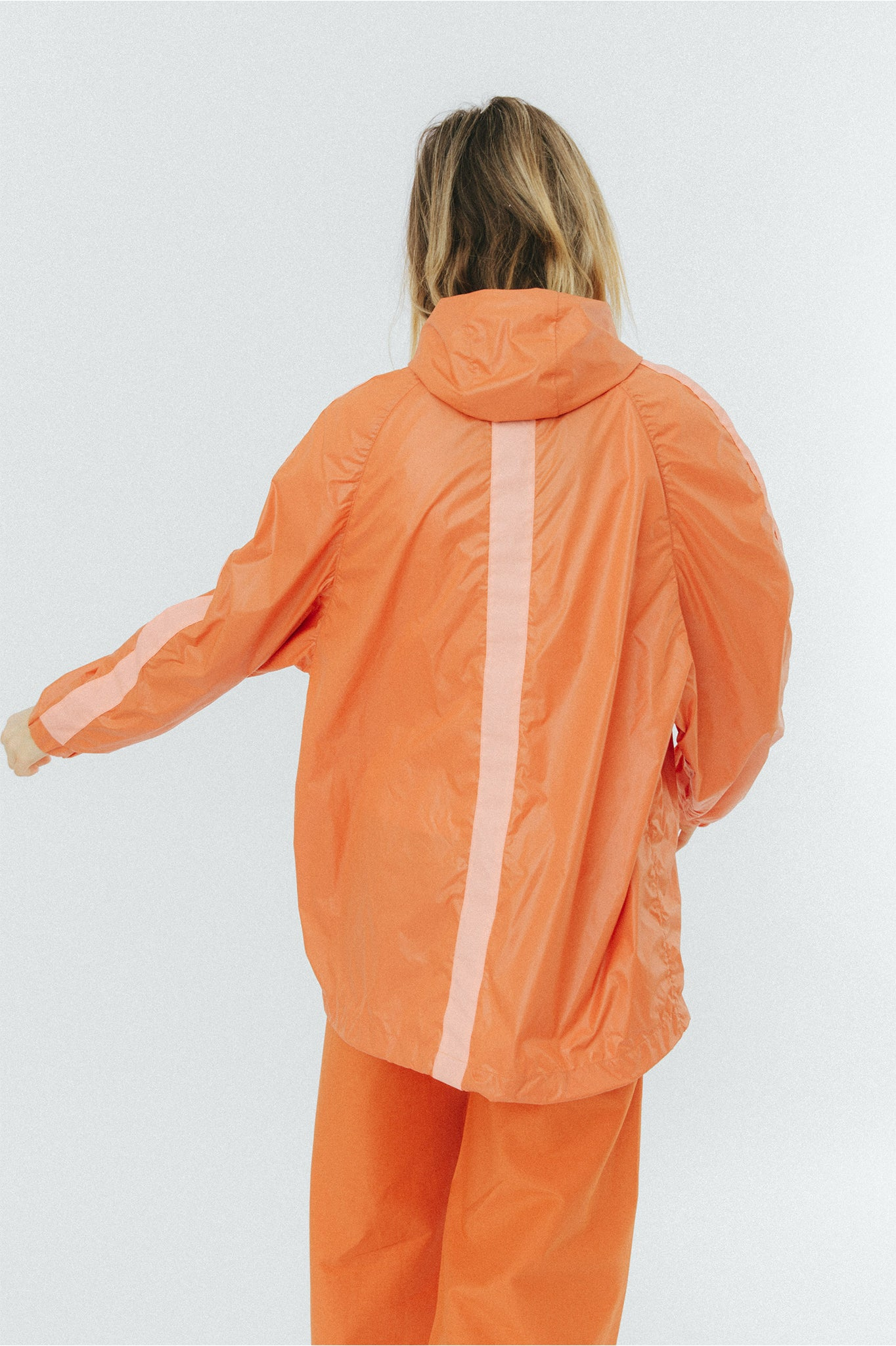 Buffet Overhead Orange Anorak Jacket