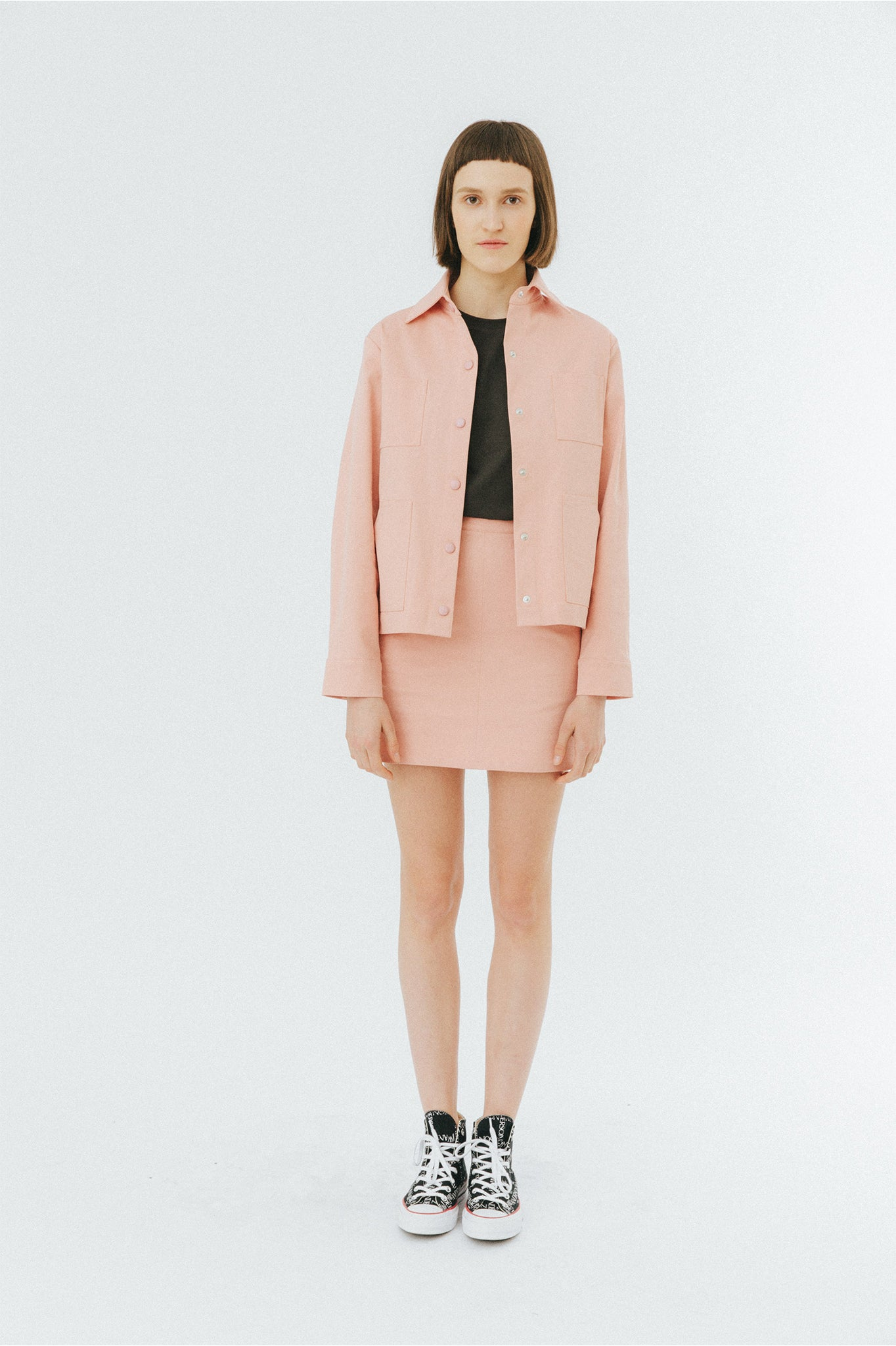 Buffet Pink Workwear Jacket