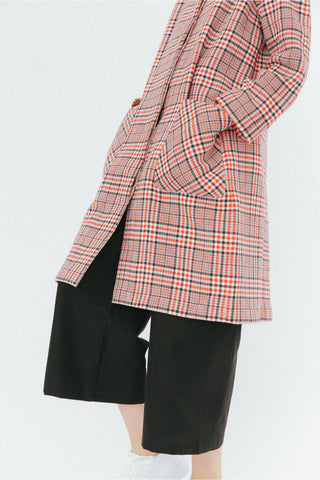 Red Checkered Coat