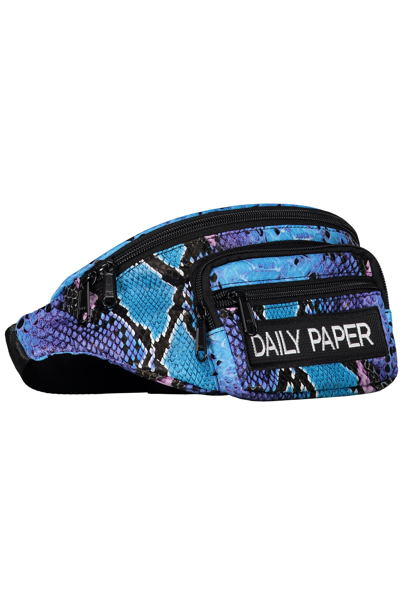 Daily Paper Blue Crocodile Bumbag Waist Belt