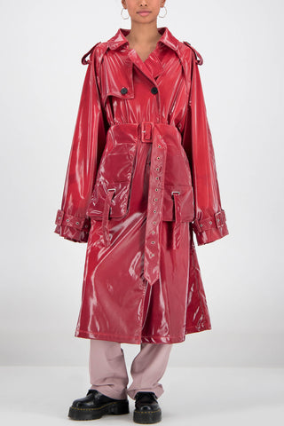Daily Paper Heat Sensitive Fante Jacket in Red