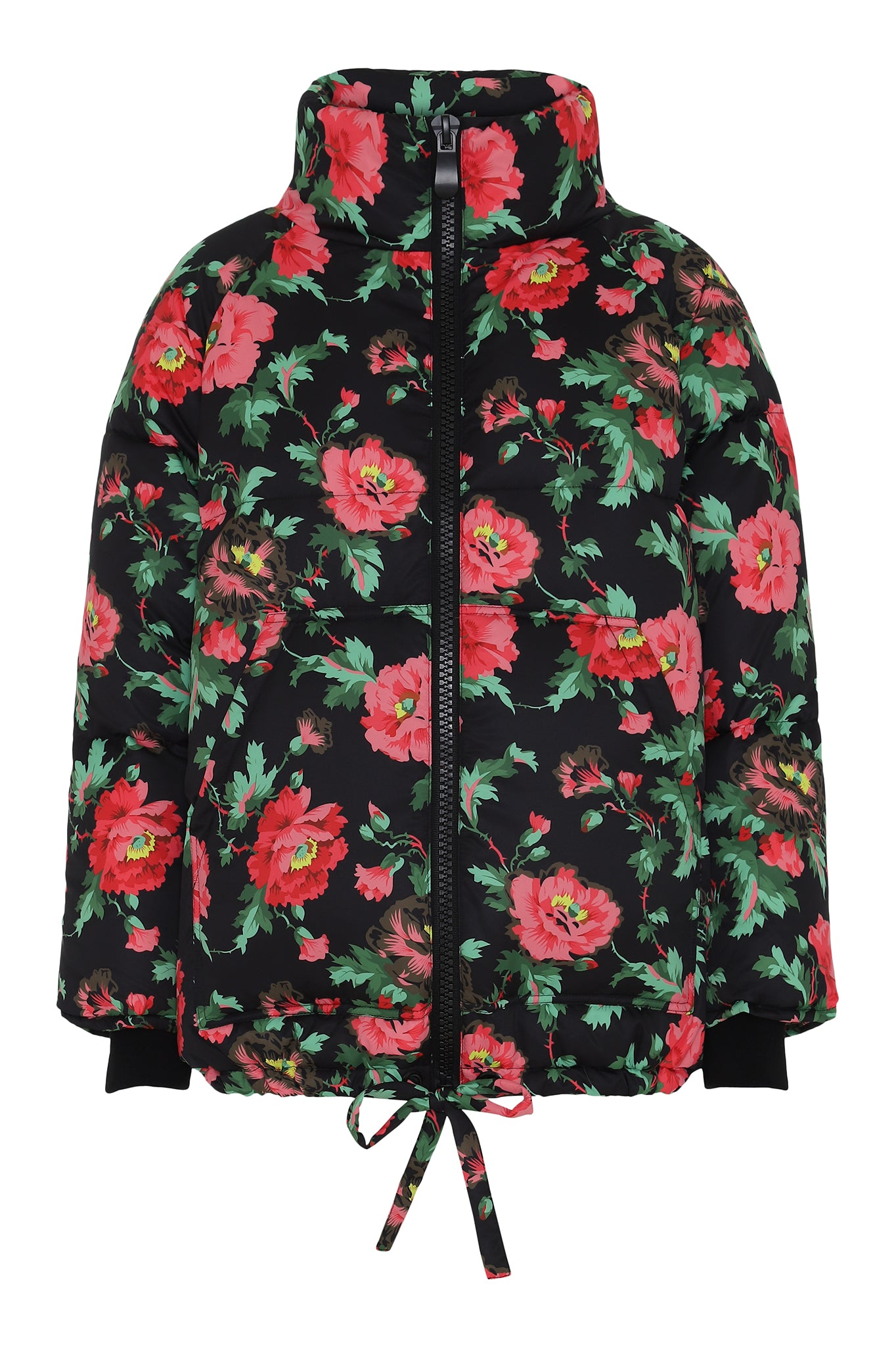 Hunkon Floral Puffer Coat