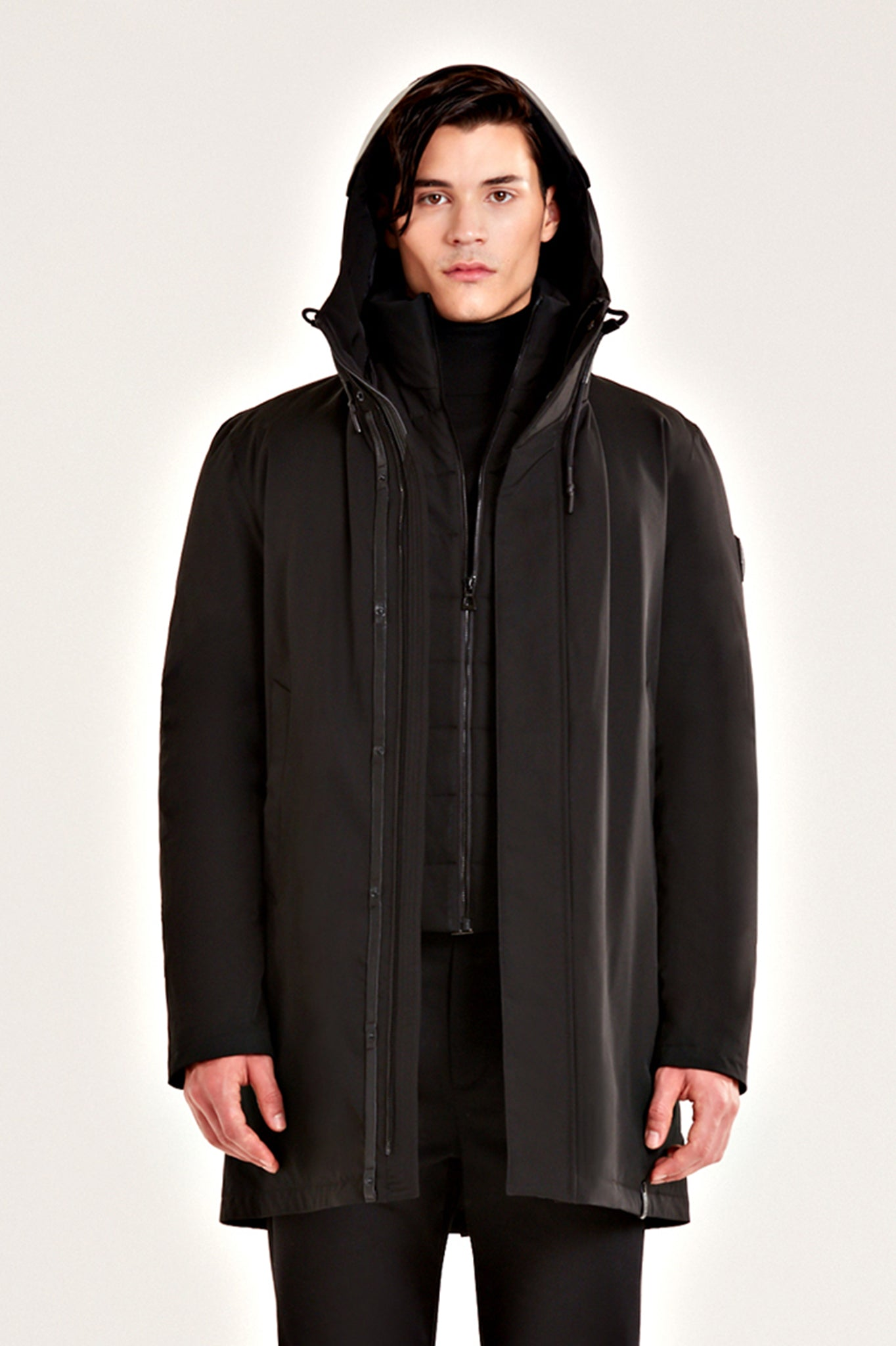 Rudsak Black Down Parka Coat