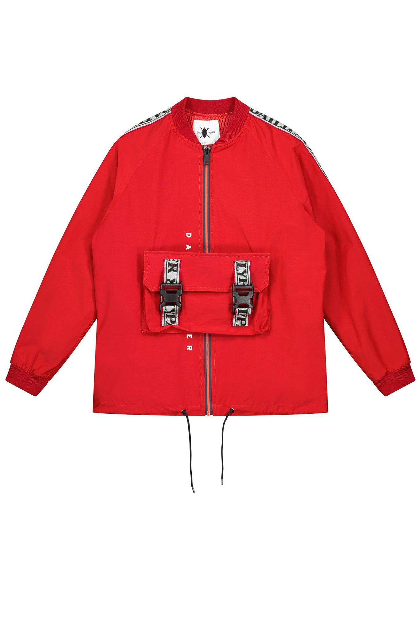 Daily Paper Sporty Red Bomber Jacket
