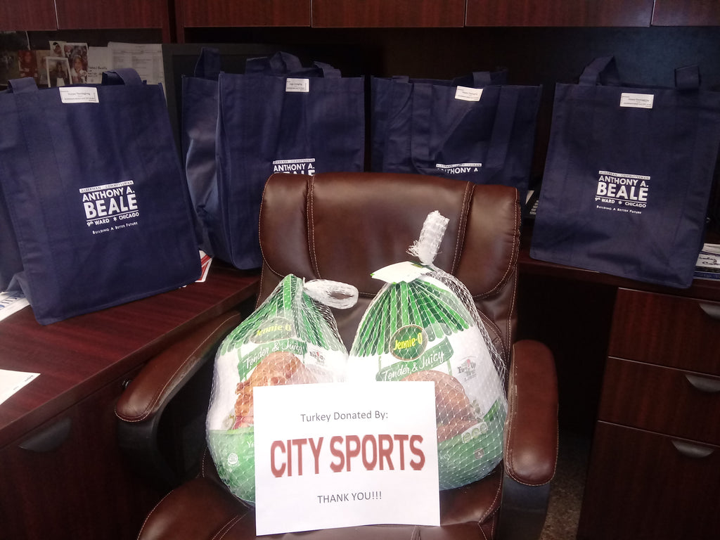 Chicago City Sports Annual Turkey Donation to Chicago Wards | 2020