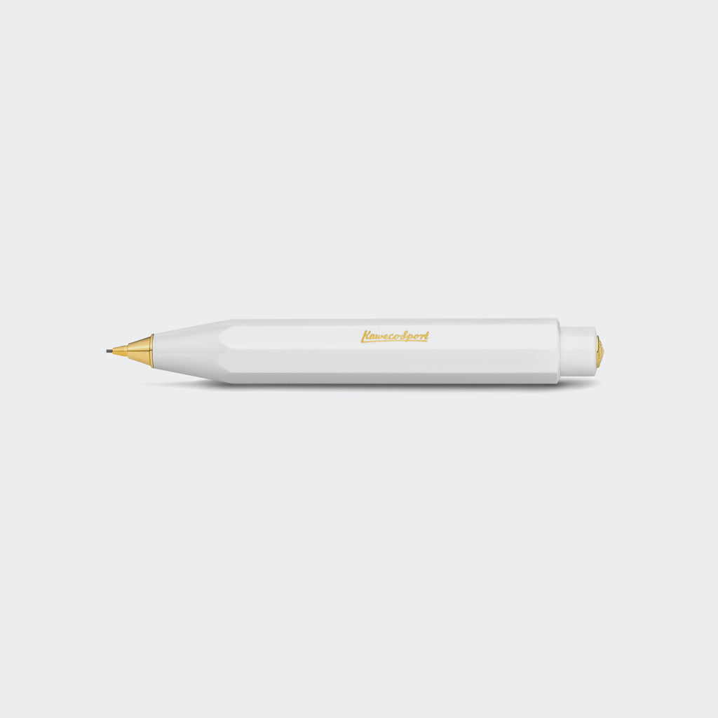Kaweco CLASSIC SPORT Mechanical Pencil 0.7 mm White