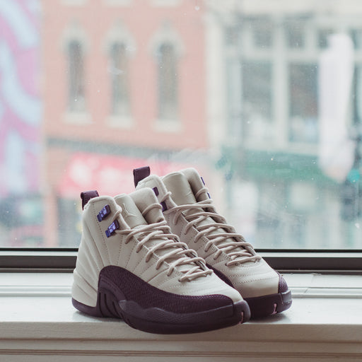 GS Air Jordan 12 Pro purple