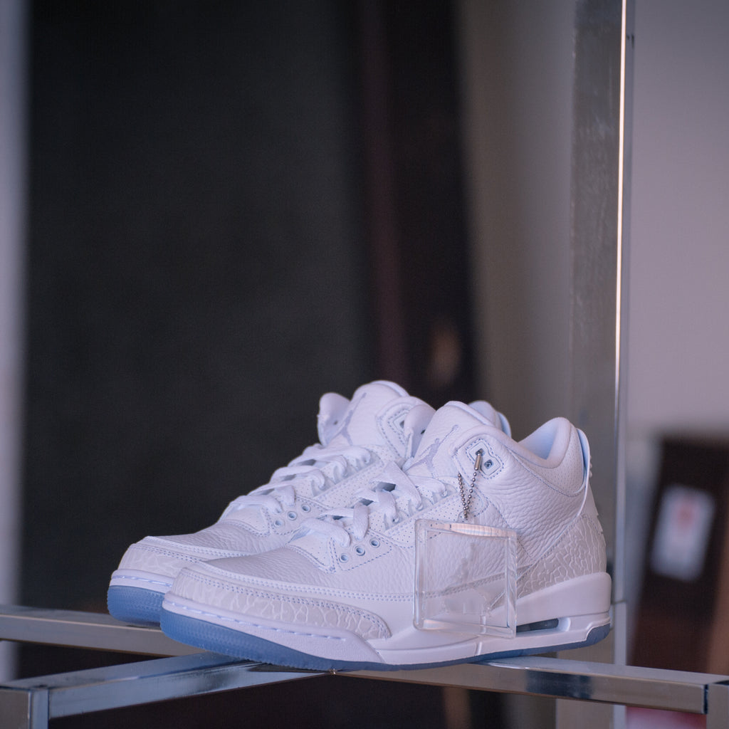 Men's Air Jordan III retro Pure White