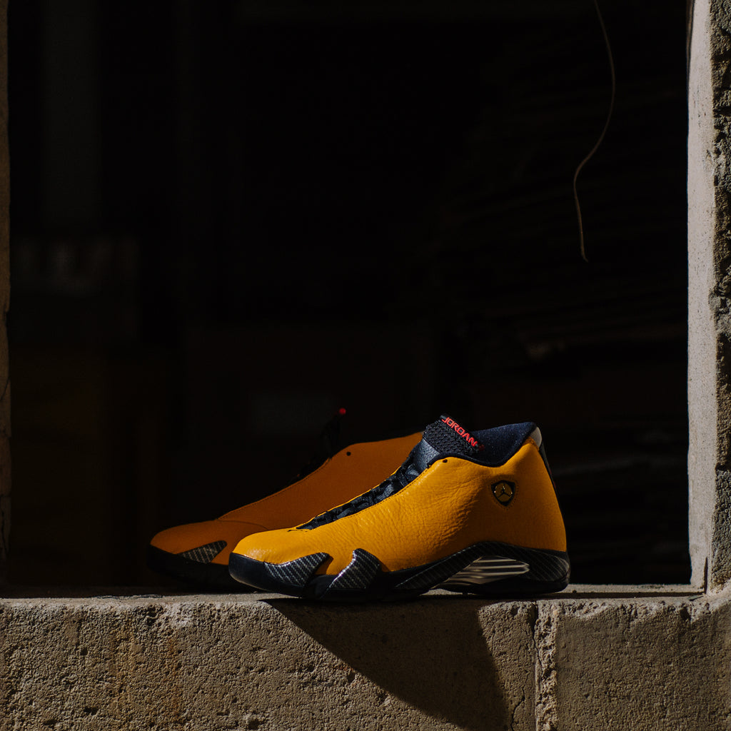 Air Jordan 14 Retro Yellow Ferrari