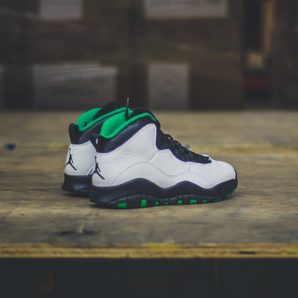Men's Air Jordan 10 Seattle