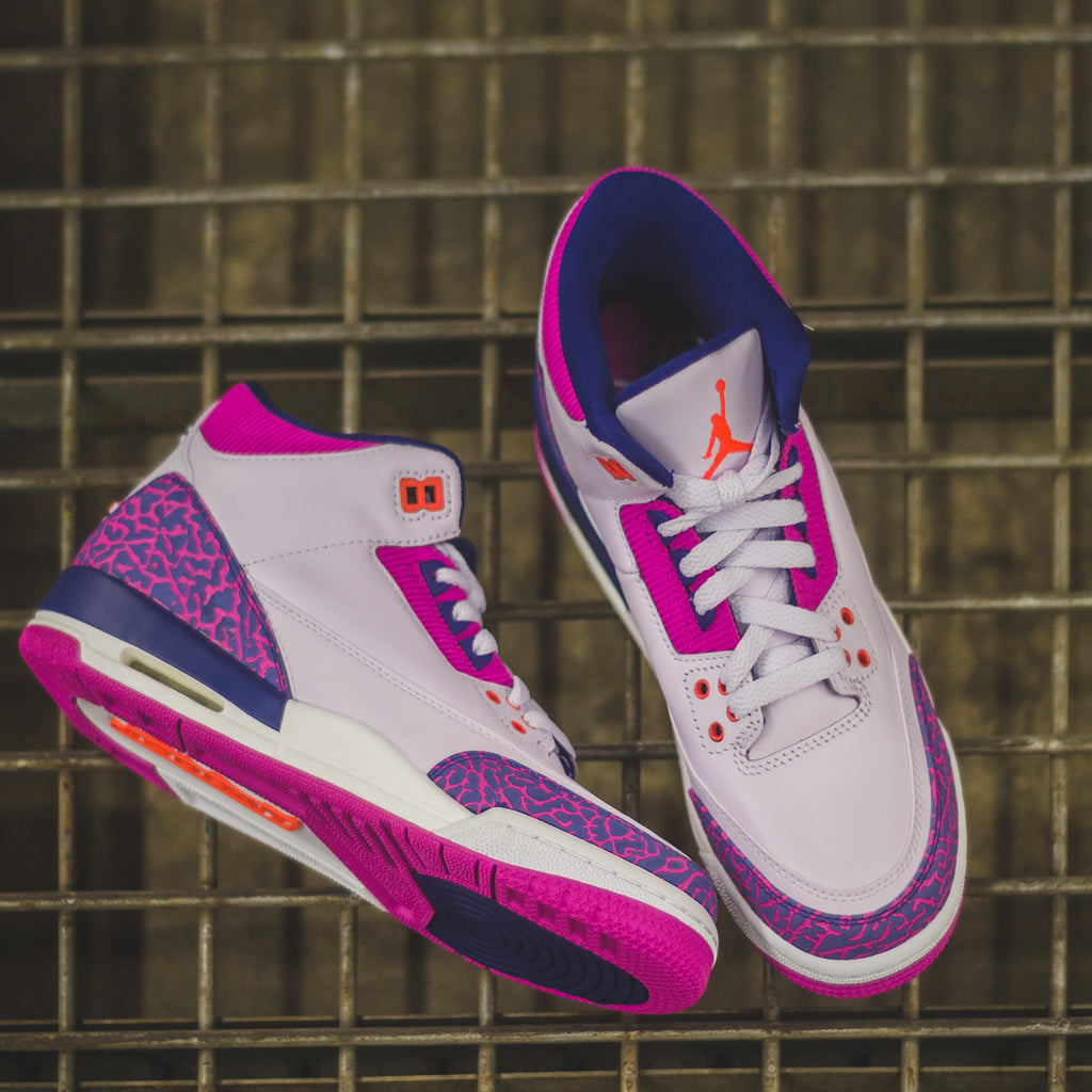 GS Air Jordan 3 Barely Grape