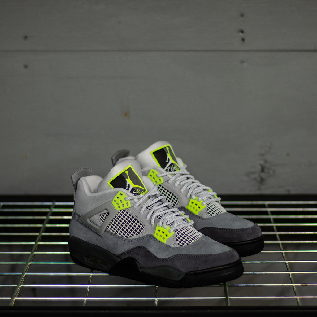 Men's Air Jordan Retro 4 Neon