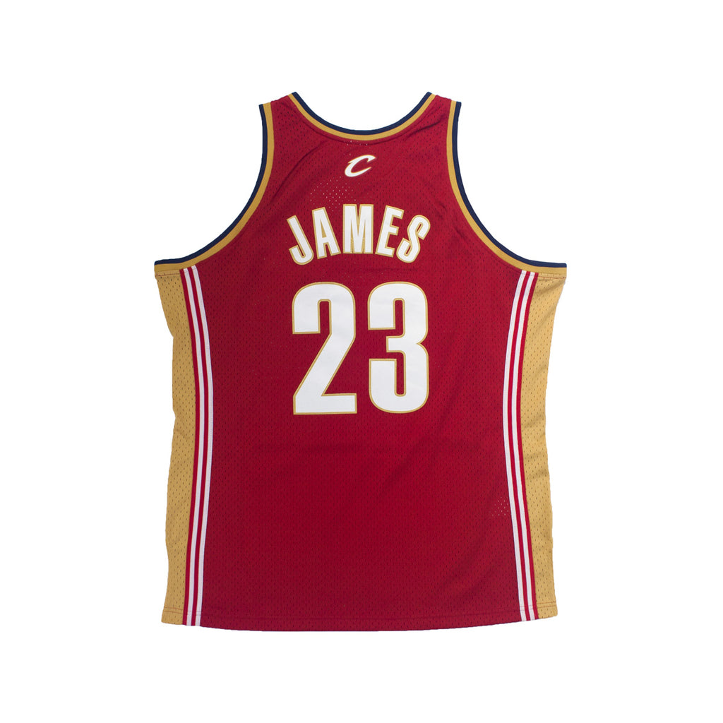Men's Mitchel & Ness LeBron James Swingman Jersey Cleveland Cavaliers