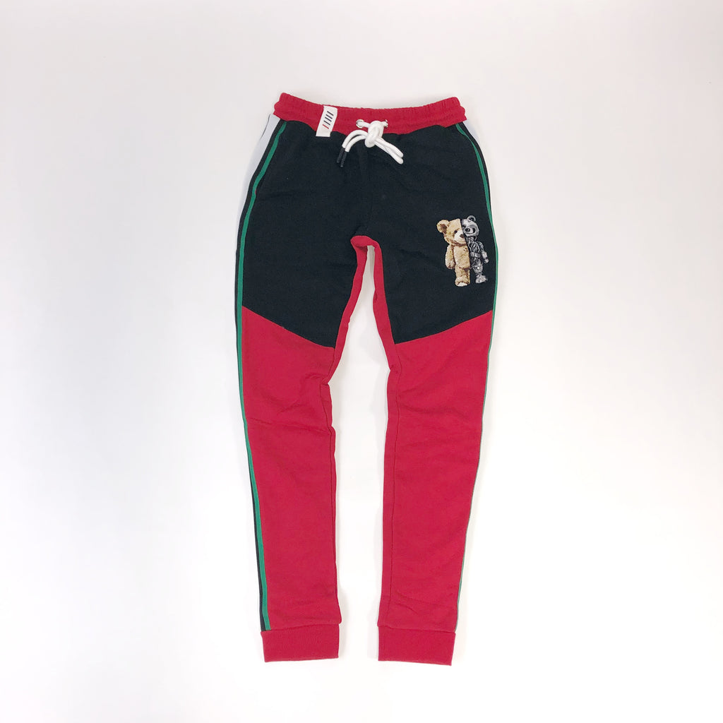 Men's Fifth Loop Sweatpants FLP012RED | Chicago City Sports | front view