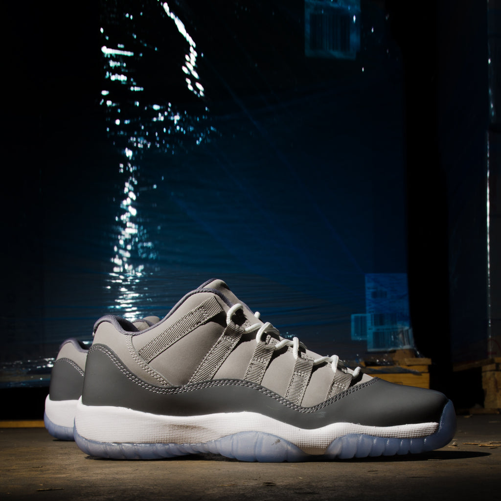 Men's Air Jordan 11 Retro Low Cool Grey
