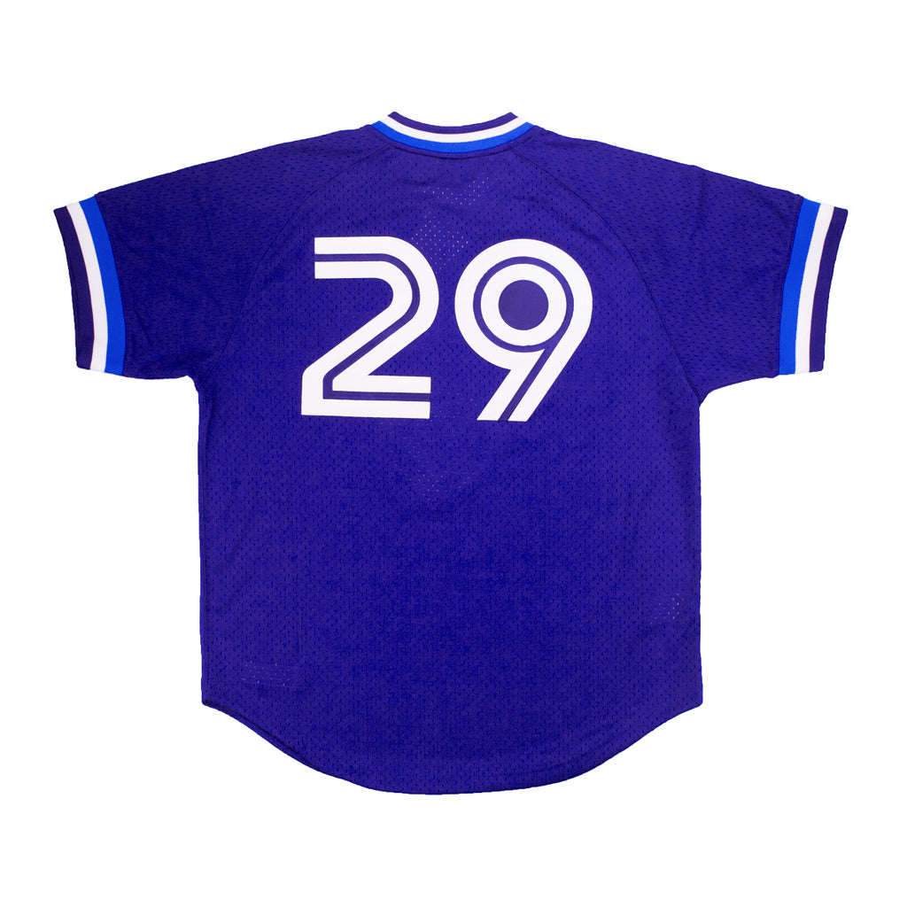 Men's Mitchell & Ness Toronto Blue Jays Joe Carter 1993 Batting Practice Jersey