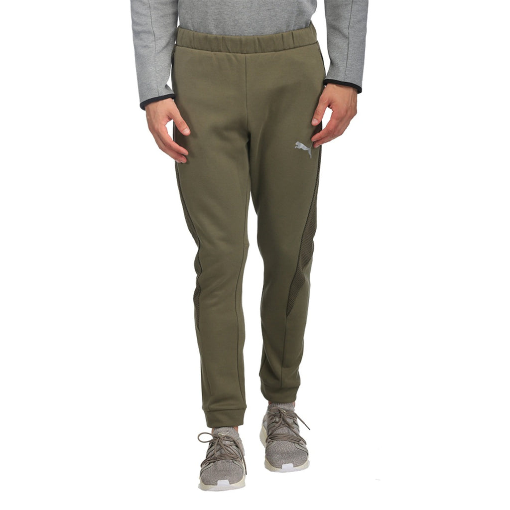 Men's PUMA Evostripe Ultimate Pants Olive Night