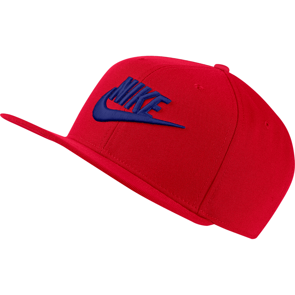 Men's Nike Sportswear Dri-FIT Pro Futura Snapback Red (SKU 891284-659) | Chicago City Sports | front view