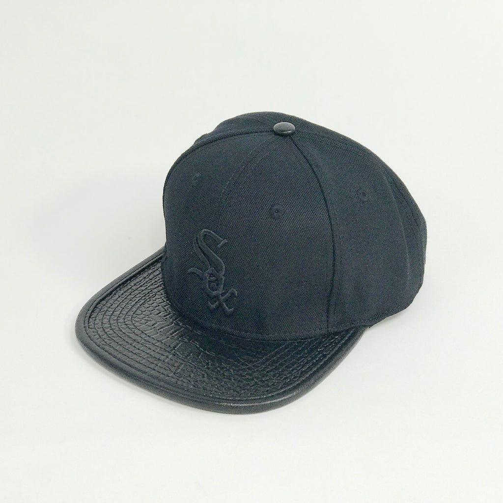Men's Pro Standard Chicago White Sox Cap Black PMCHWB0815